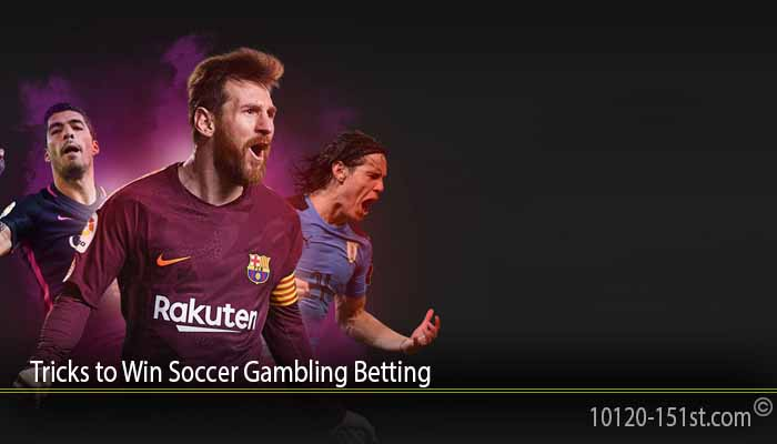 Tricks to Win Soccer Gambling Betting